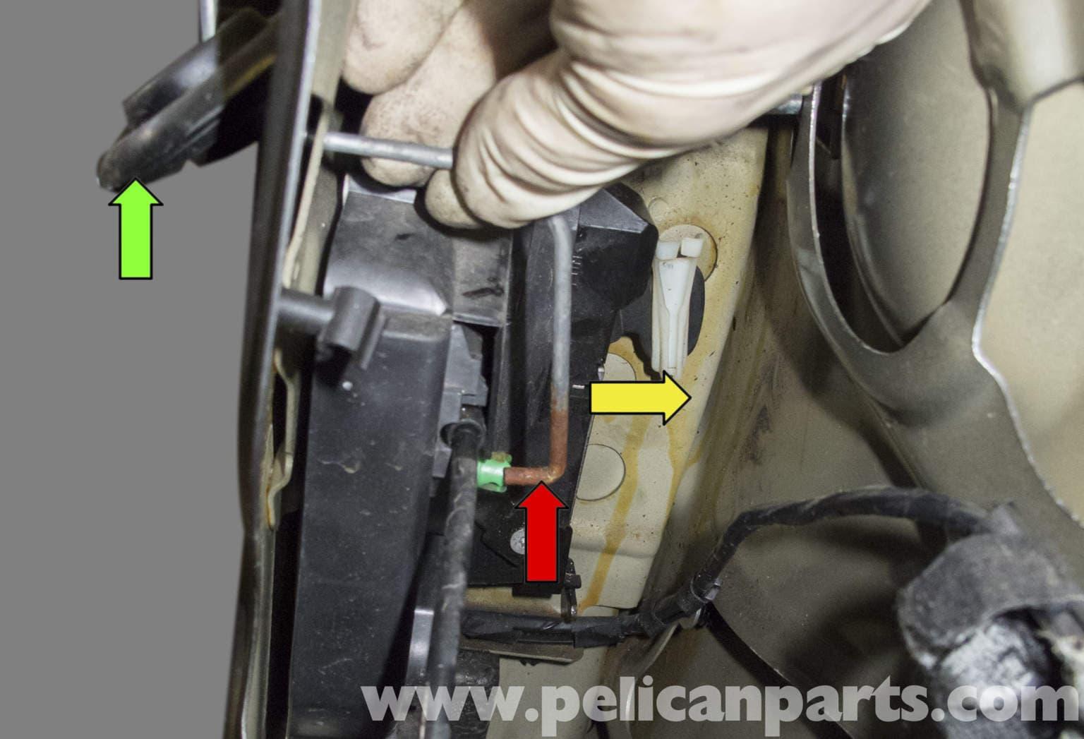 Mini Cooper R56 Door Latch Replacement 2007 2011 Pelican Parts Diy Maintenance Article