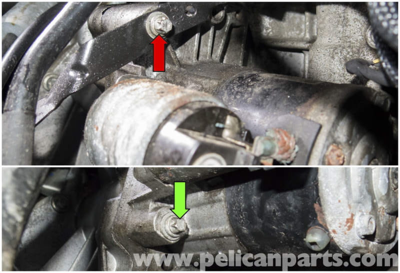 MINI Cooper R56 Starter Replacement  20072011    Pelican Parts DIY    Maintenance    Article