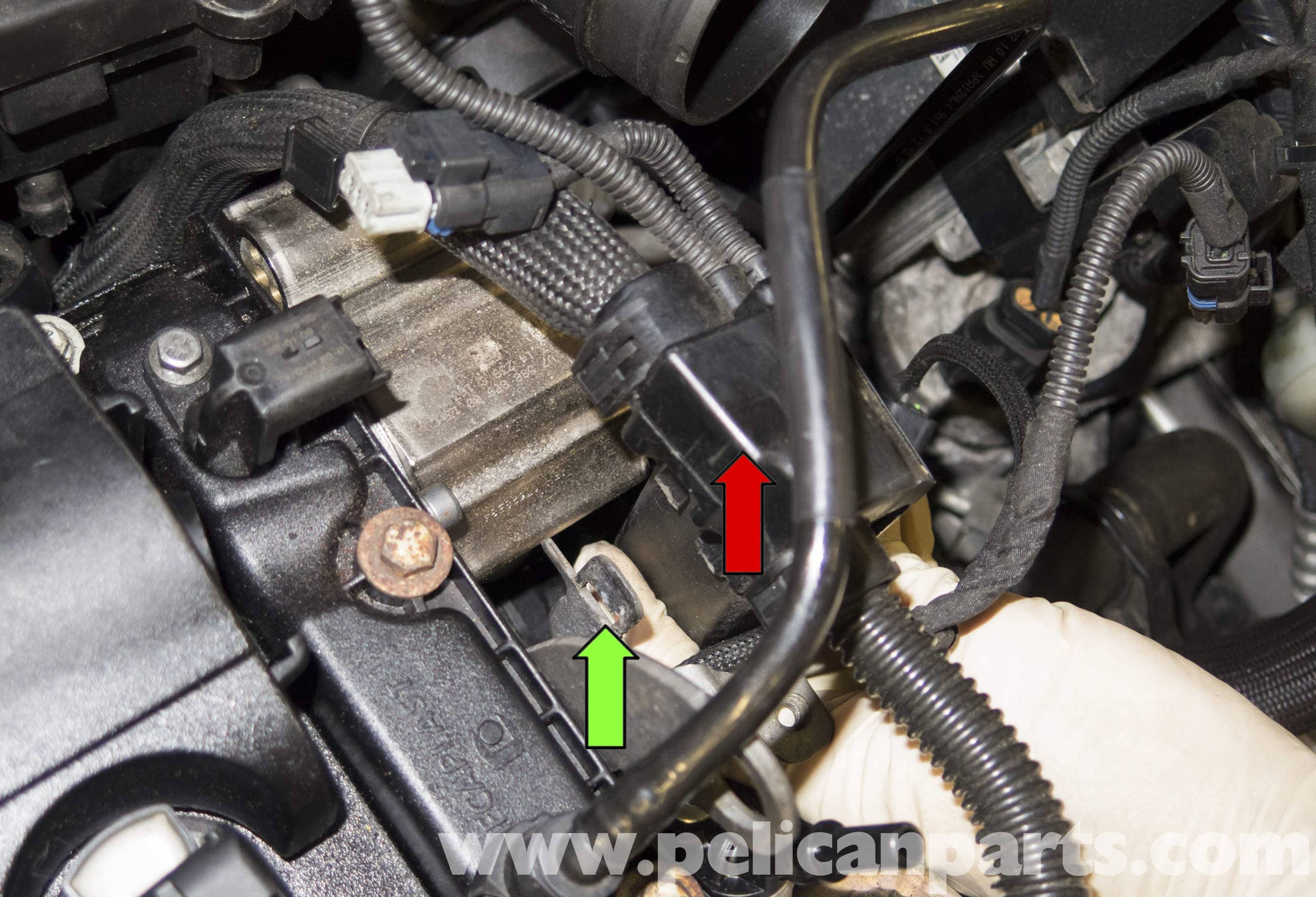 Pic on Ford Escape Coolant Temperature Sensor Location
