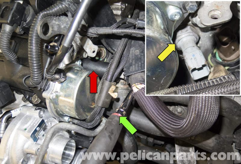 MINI Cooper R56 Coolant Temperature and Oil Pressure Sensor Replacement (2007-2011) | Pelican ...