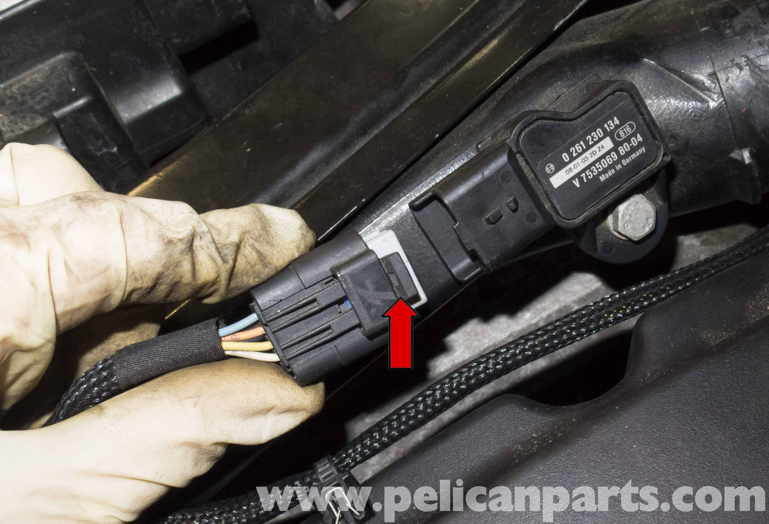 MINI Cooper R56 Turbocharged Engine Pressure Sensor