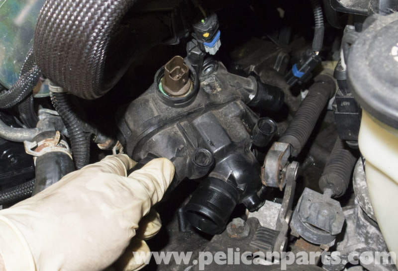 Mini Cooper R56 Turbocharged Engine Thermostat Replacement