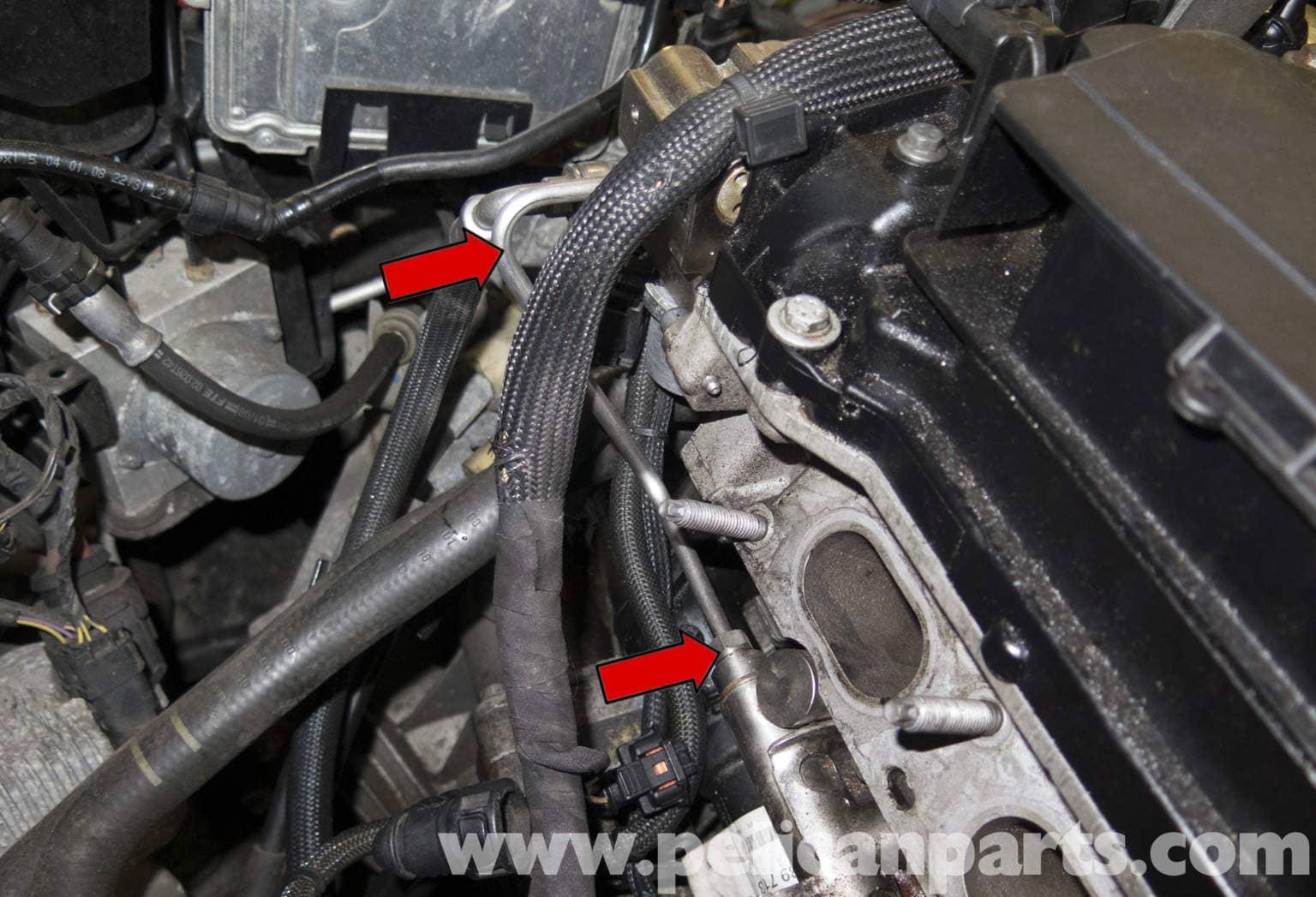 Mini Cooper Fuel Pressure Diagram : Mini cooper r fuel rail pressure sensor replacement