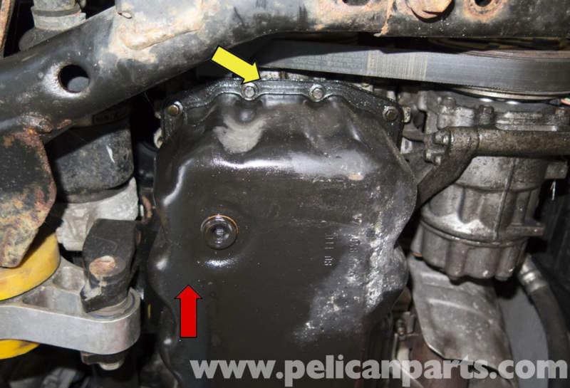Mini Cooper R56 Oil Pan Gasket Replacement 2007 2011