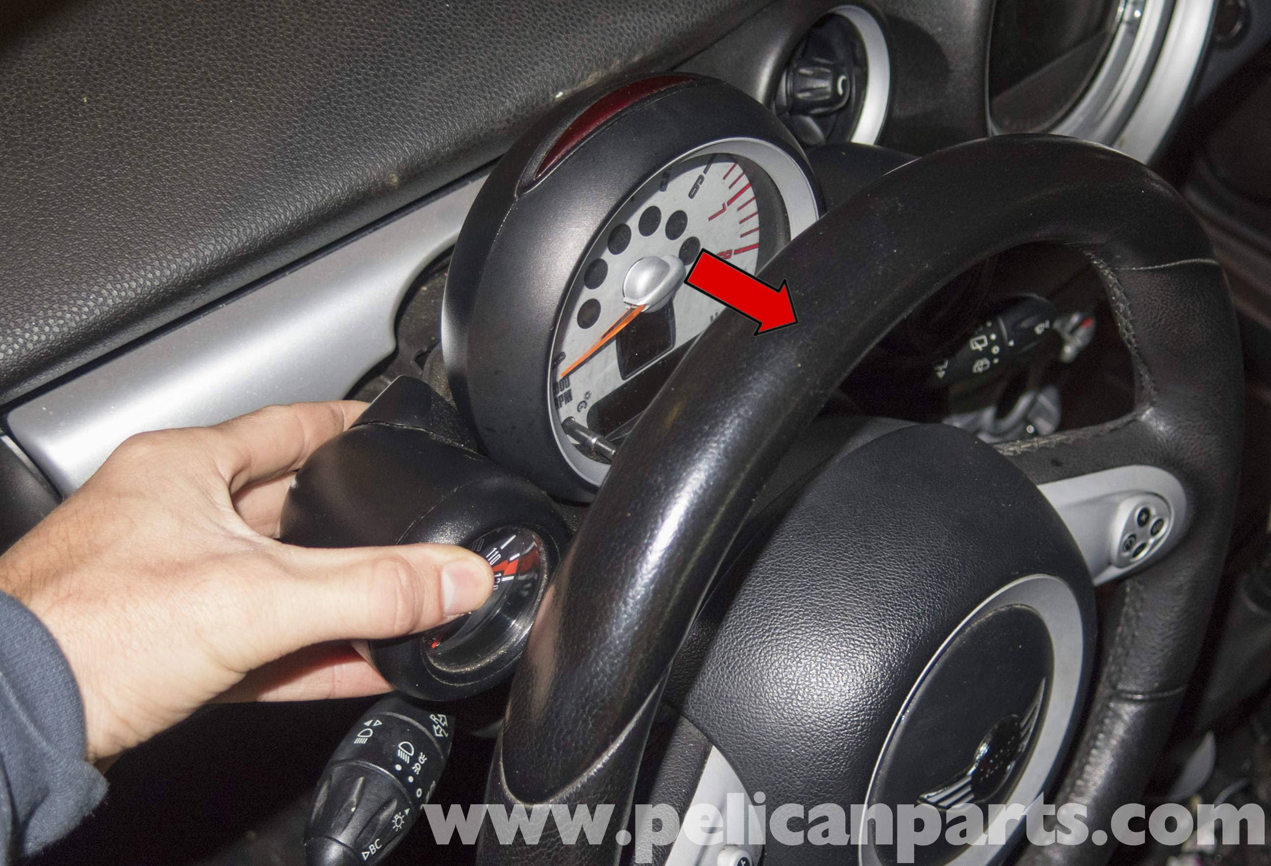 Mini Cooper R56 Tachometer Replacement 2007 2011 Pelican Parts Wiring Diagram Large Image Extra
