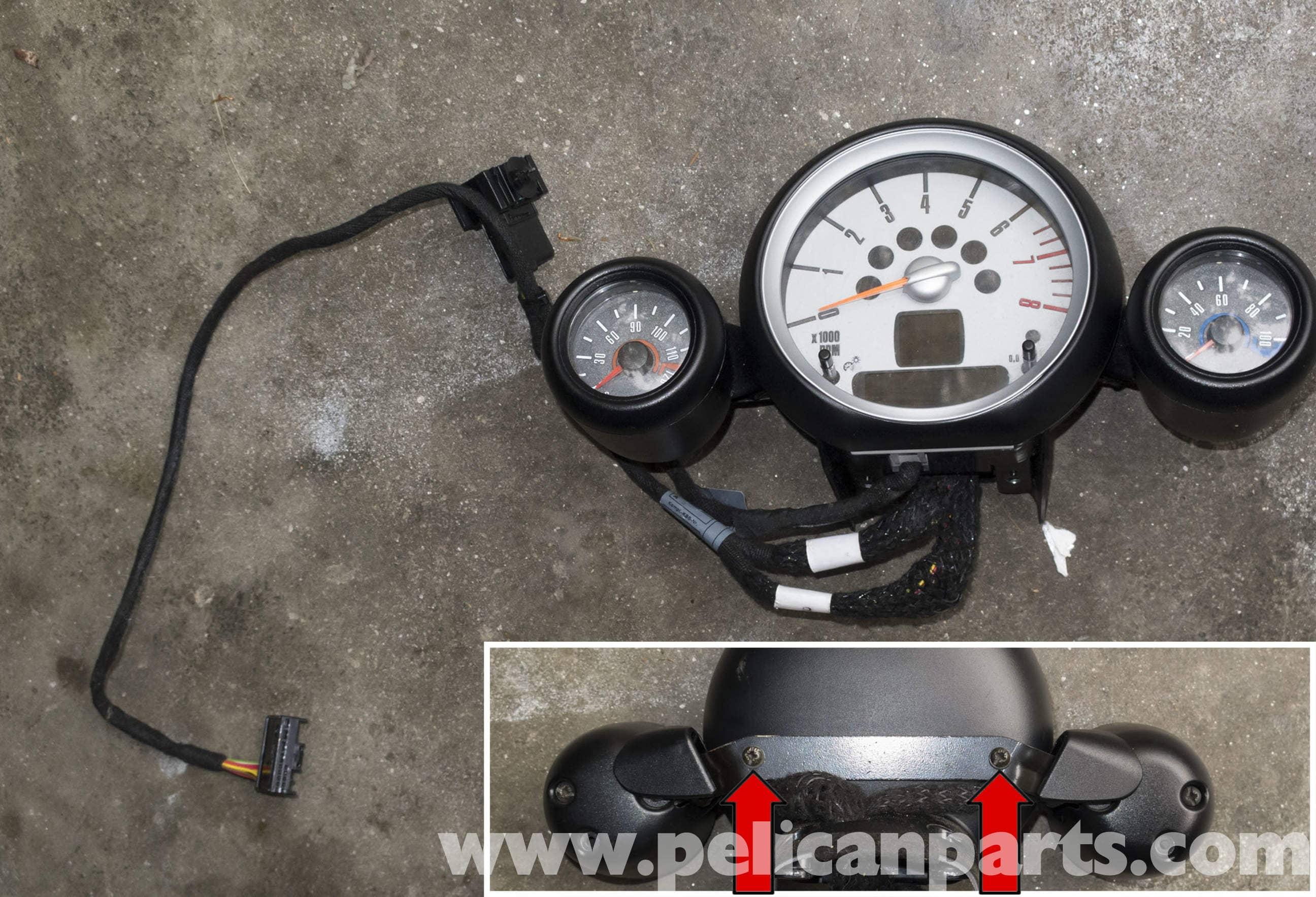 MINI Cooper R56 Tachometer Replacement (2007-2011) | Pelican