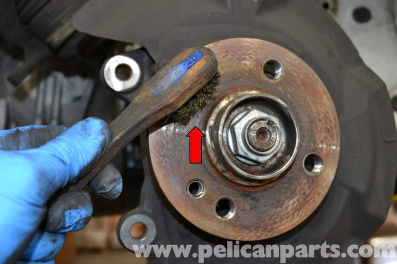 Mini Cooper Front Brake Rotor Replacement R56 2007 2013