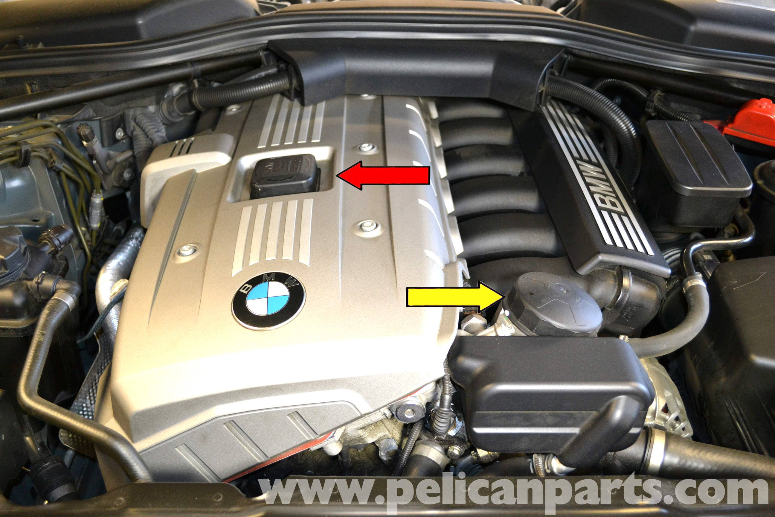 Bmw 5 Series 530i E60 2003 2010 Changing The Oil And