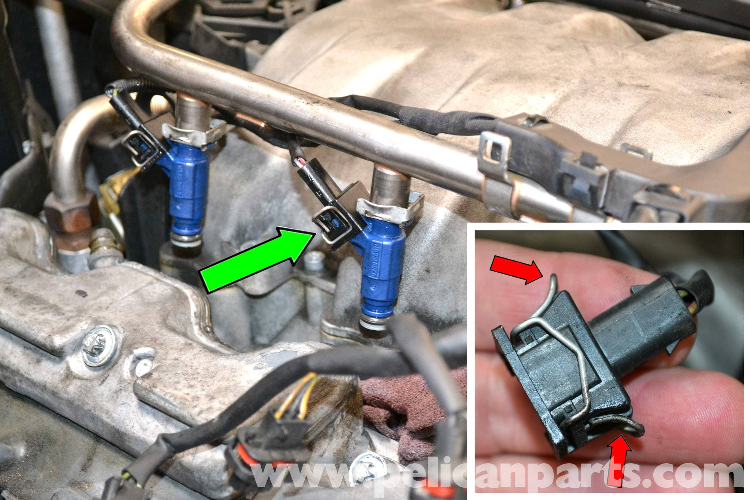 how to clean fuel rail and injectors