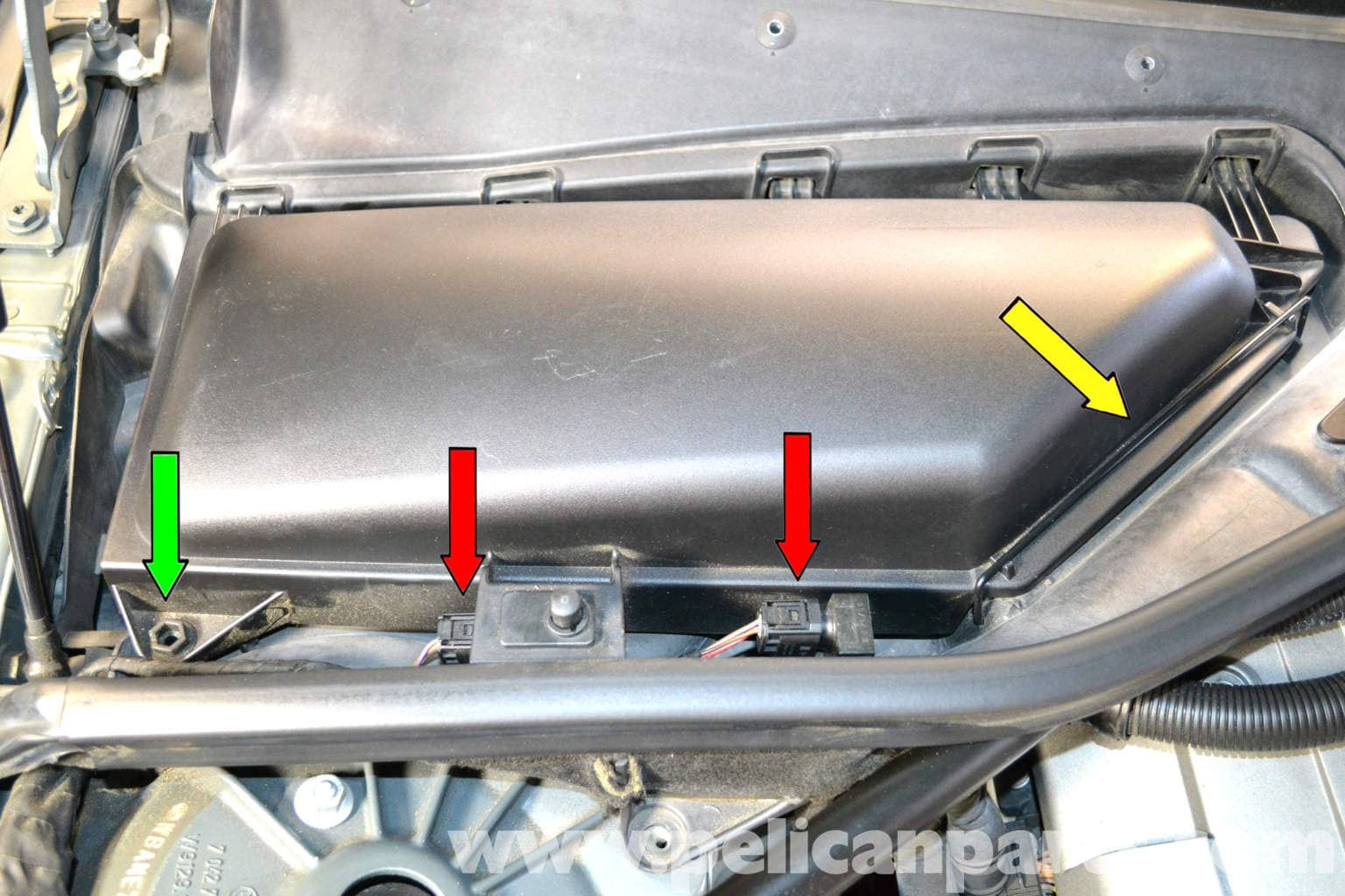 Bmw 5 Series 530i E60 2003 2010 Replacing The Cabin Air Filter Pelican Parts Technical Article