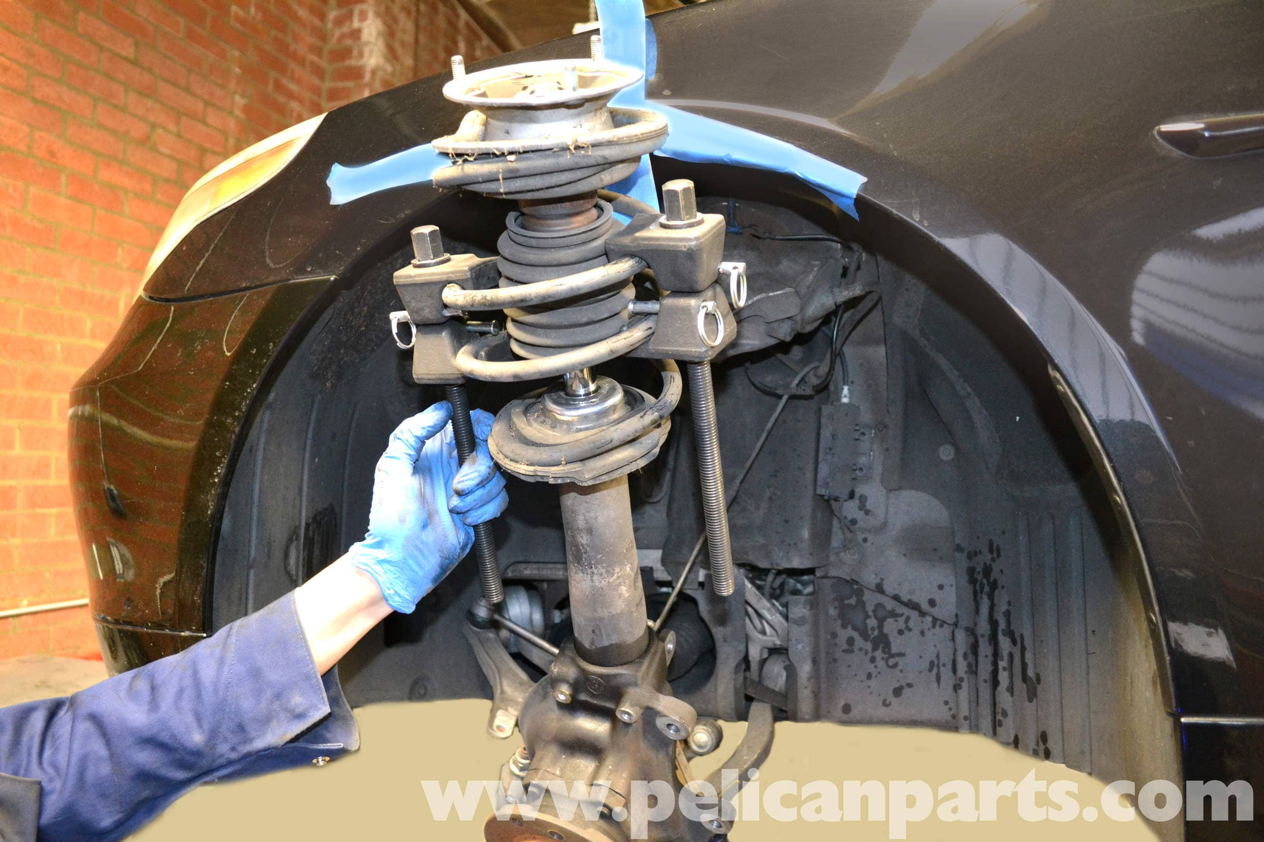 Bmw 5 Series 530i E60 2003 2010 Replacing The Front