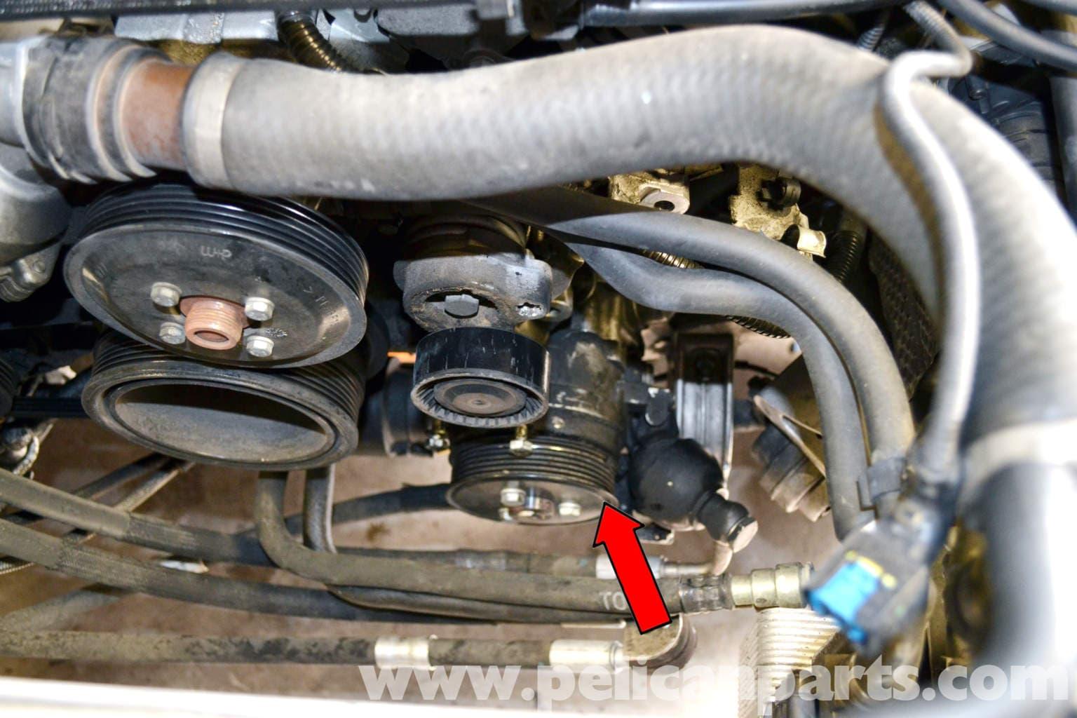 BMW The Infamous Alternator Bracket Oil Leak on the E65