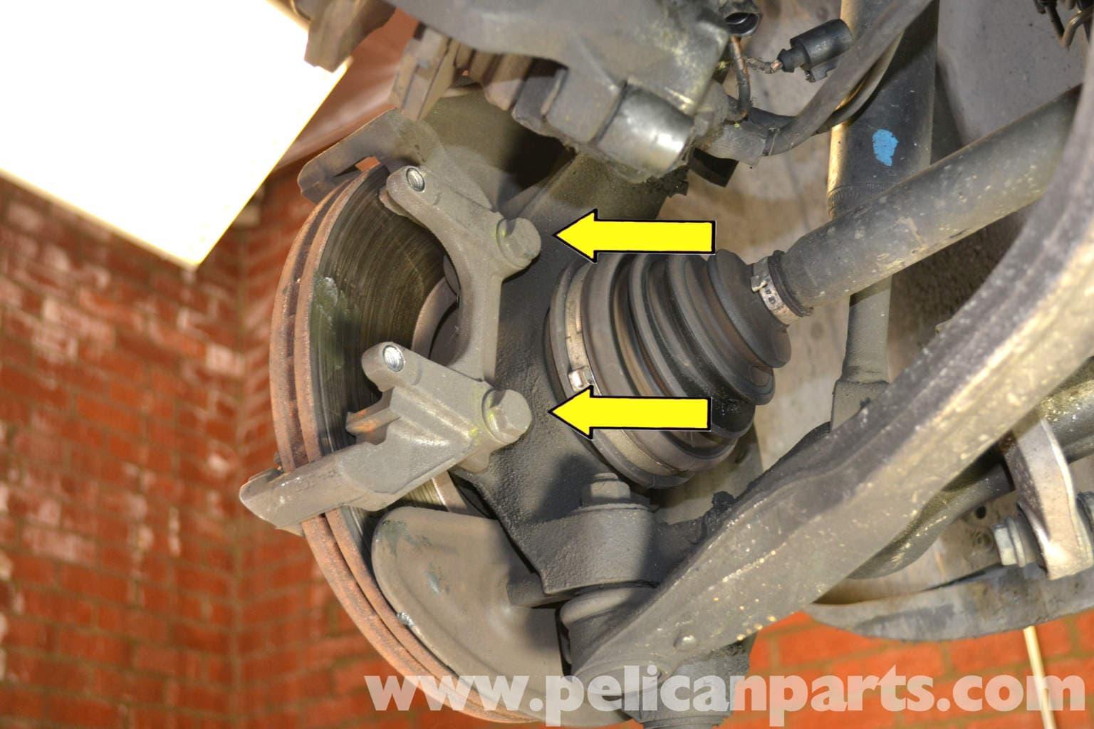 Volkswagen Passat 1996 2005 Front Brake Rotors And Pads