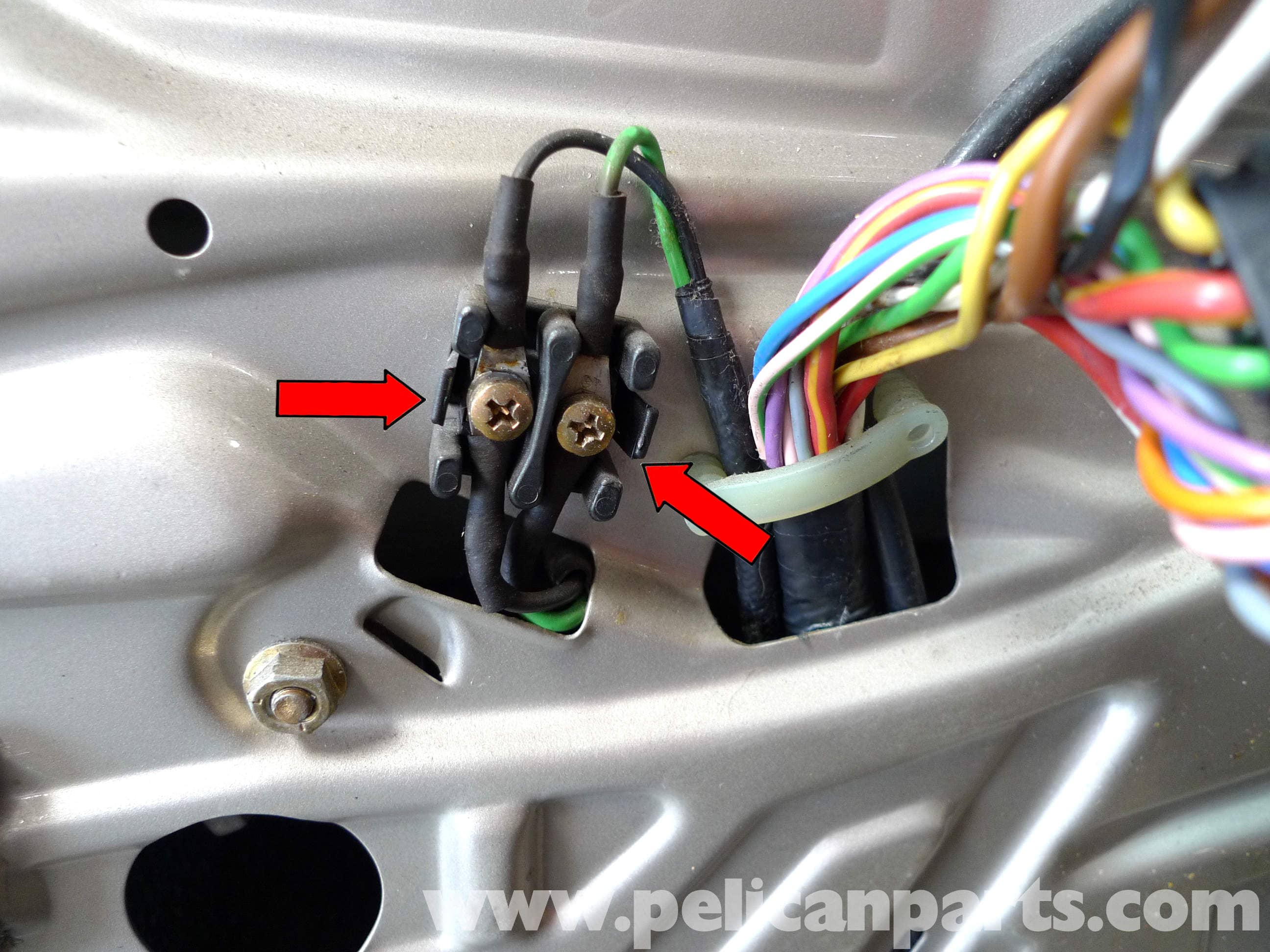 Mercedes Benz 190e Front Window Regulator Replacement W201 1987 Saab Electric Seat Wiring Diagram Large Image Extra