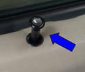Begin by unscrewing the door lock pull.