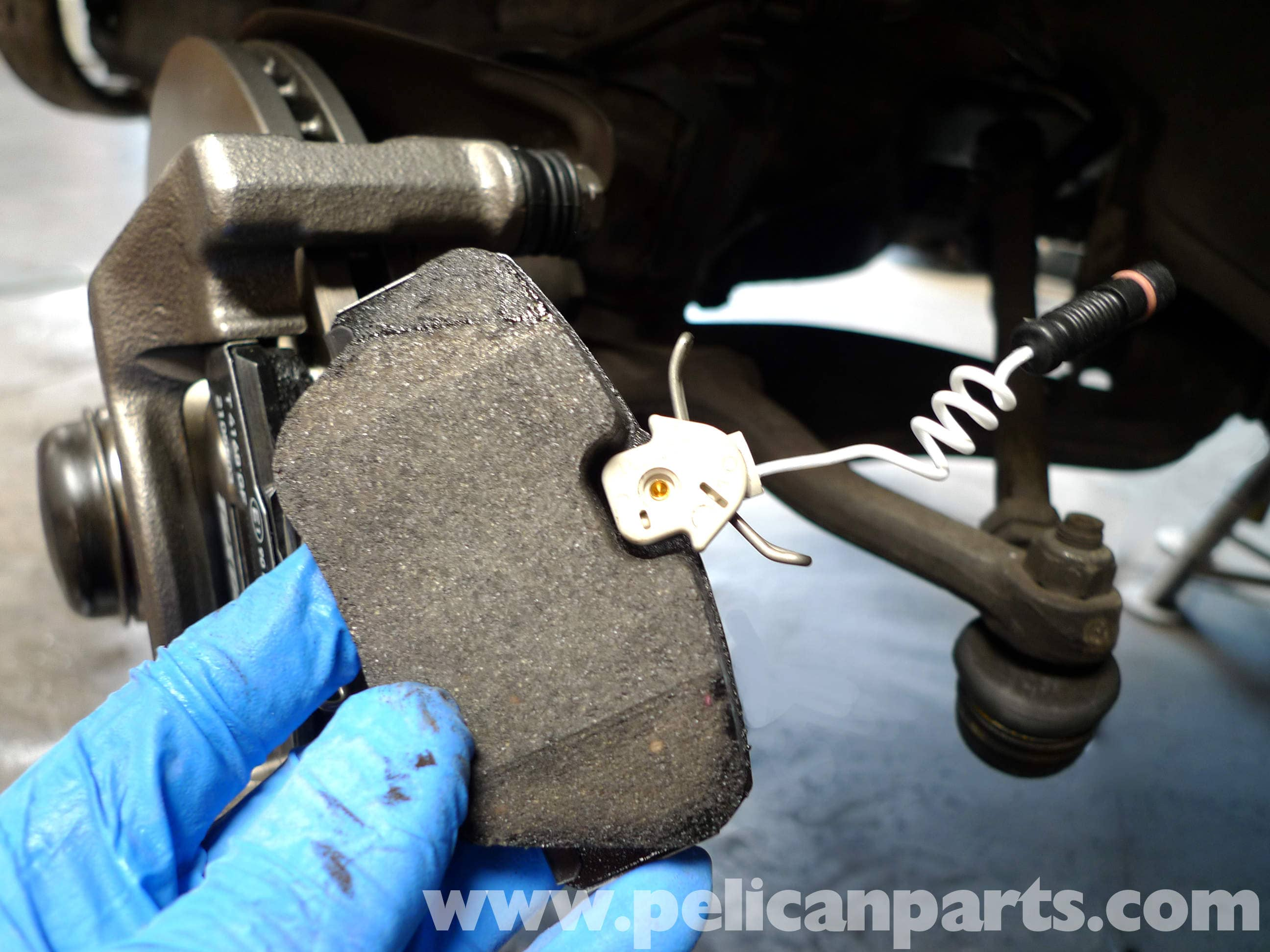 Mercedes benz 190e front brake pad replacement w201 1987 for Mercedes benz c300 brake rotors