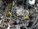You will need to remove all the vacuum lines and electrical connections on the intake system and head.