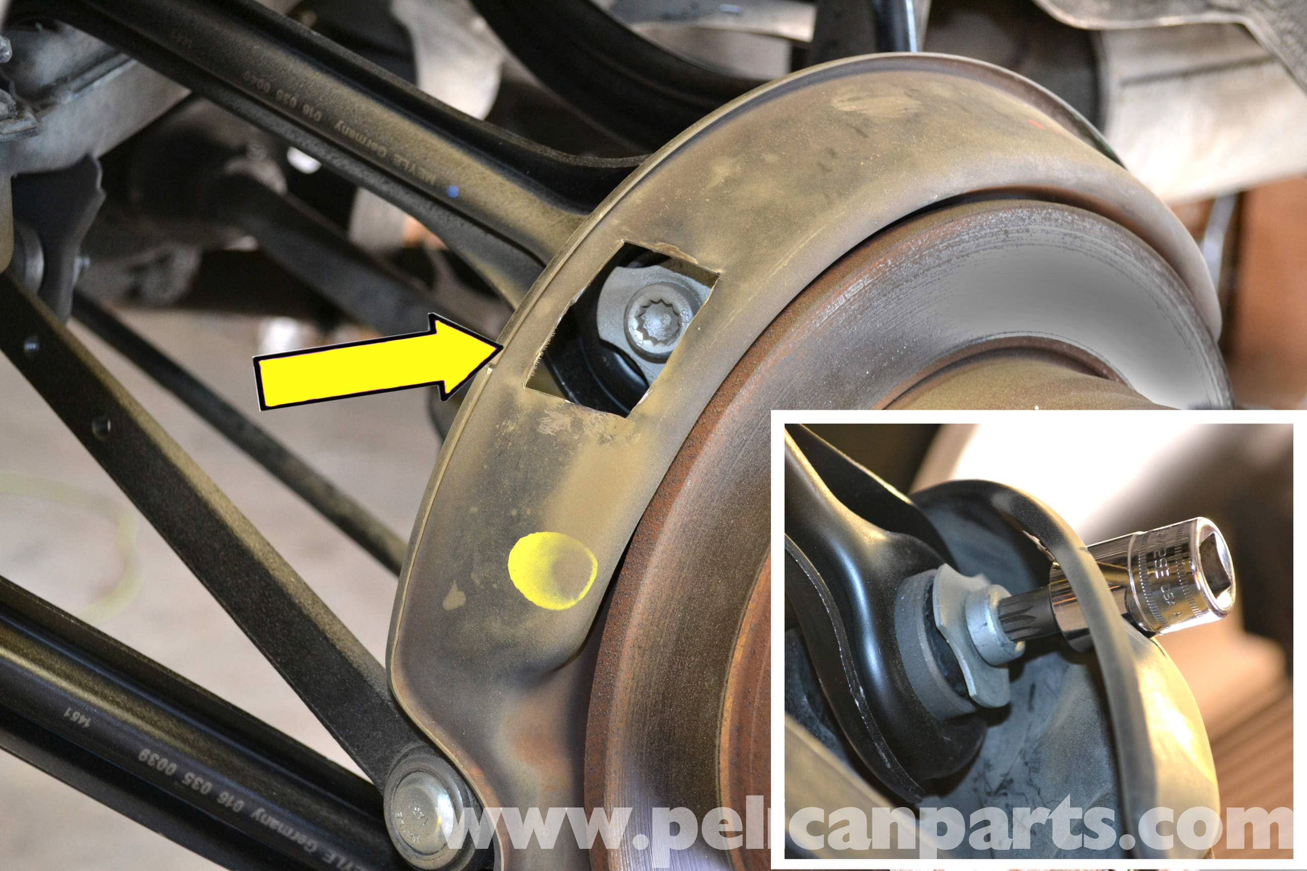 Mercedes-Benz 190E Rear Multi-Link Suspension Replacement