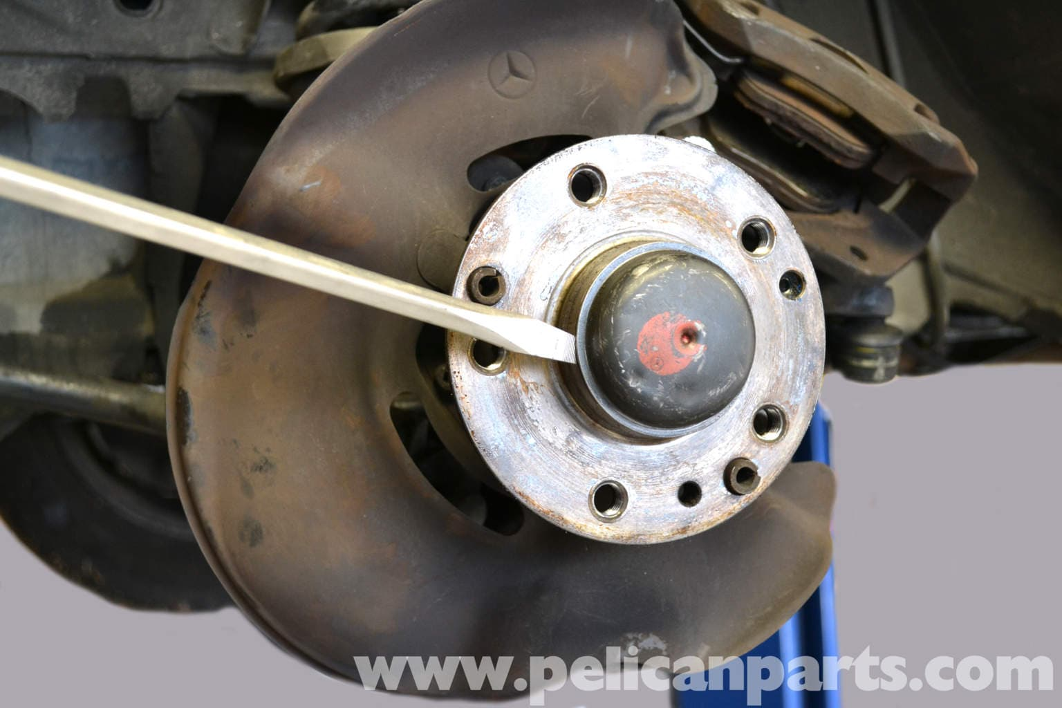 Mercedes Benz 190e Front Wheel Bearing Replacement W201