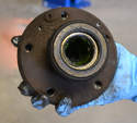 Shown here is the hub removed from the spindle.