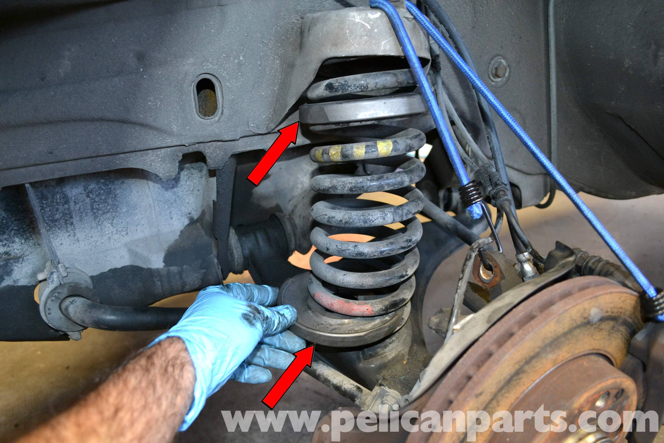Mercedes Benz 190e Front Strut And Spring Replacement