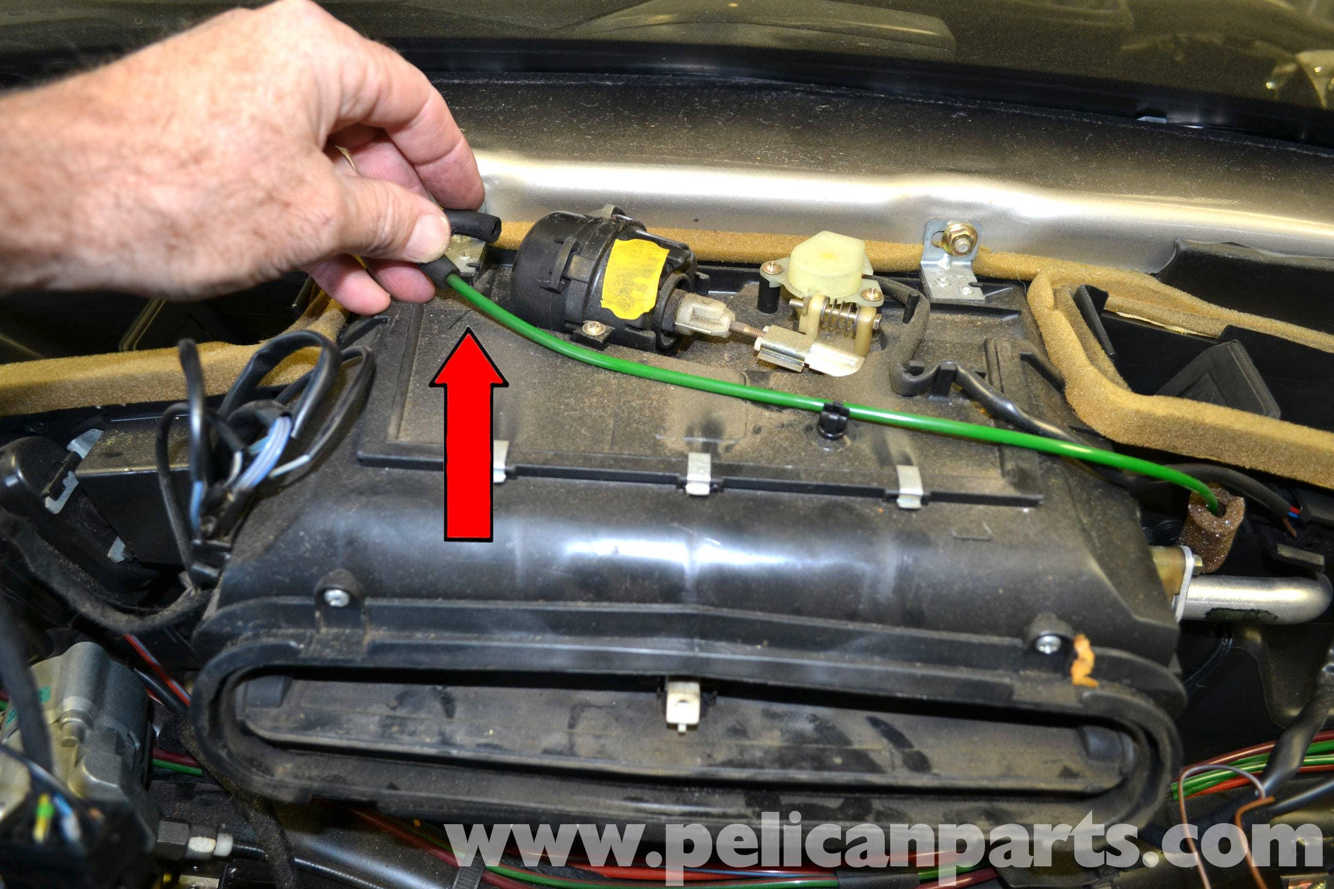 Mercedes Benz 190e Heater Core Replacement W201 1987