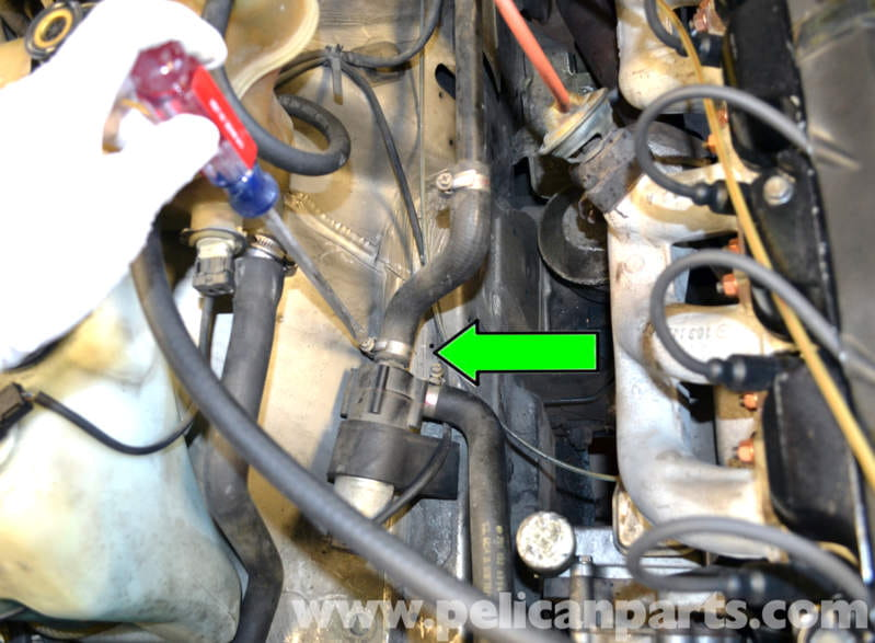 Mercedes Benz 190e Heater Core Replacement W201 1987