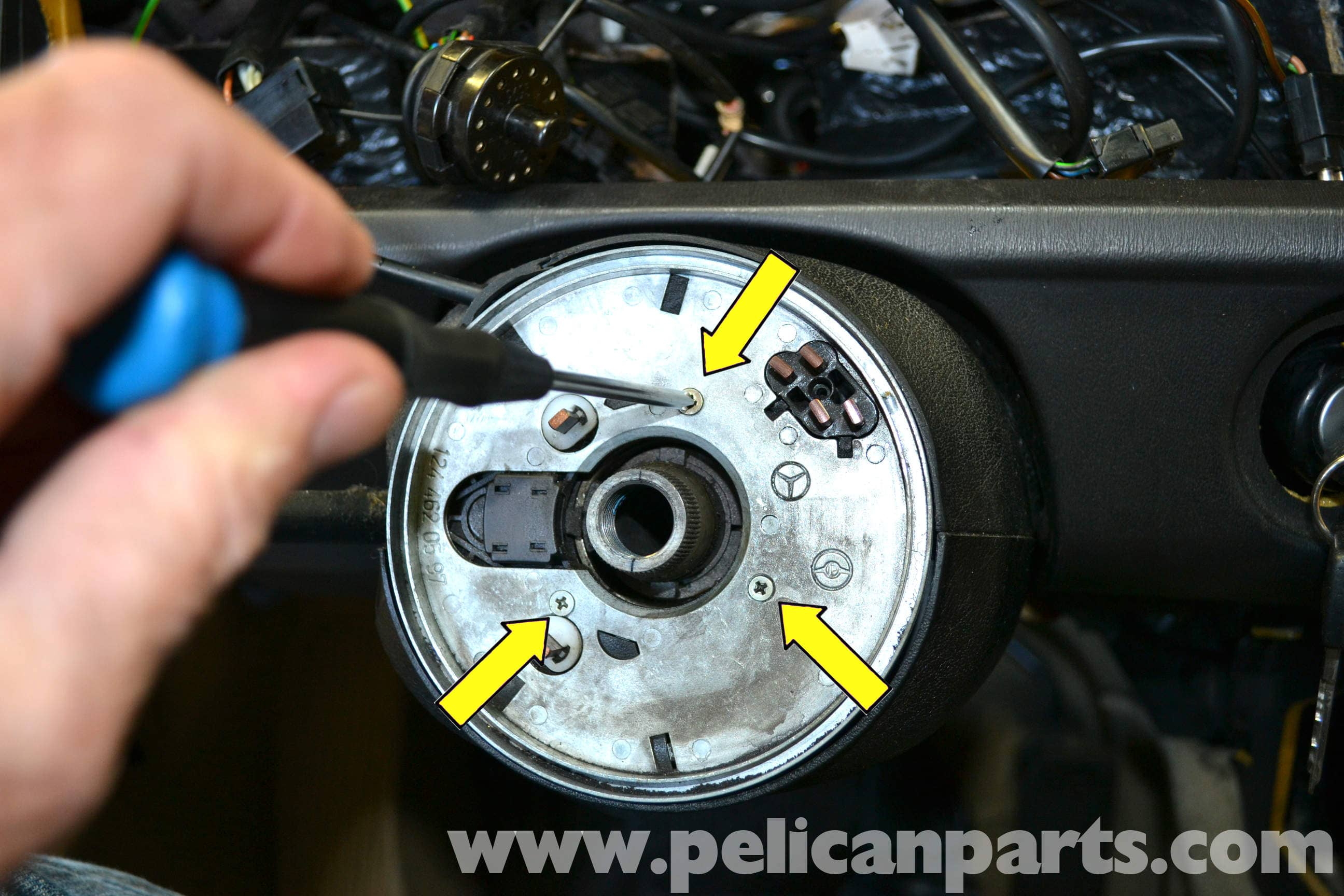 Mercedes-Benz 190E Ignition Switch and Lock Replacement