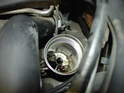 Here is the oil filter housing once you remove the filter element.