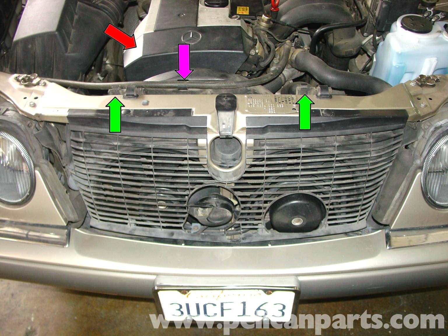 large image | extra-large image � locate the serpentine belt tensioner