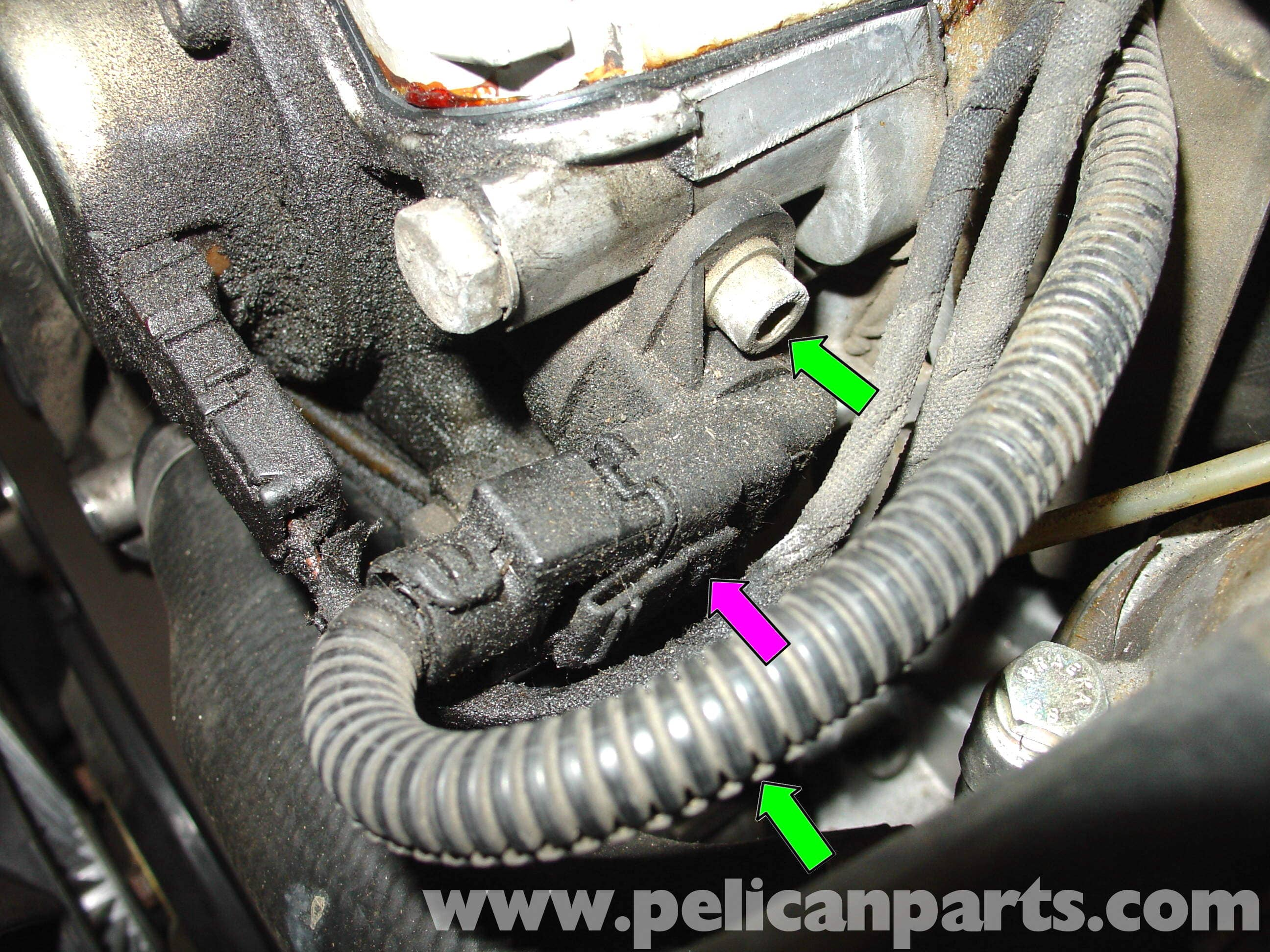 Mercedes Benz W210 Camshaft Position Sensor Replacement