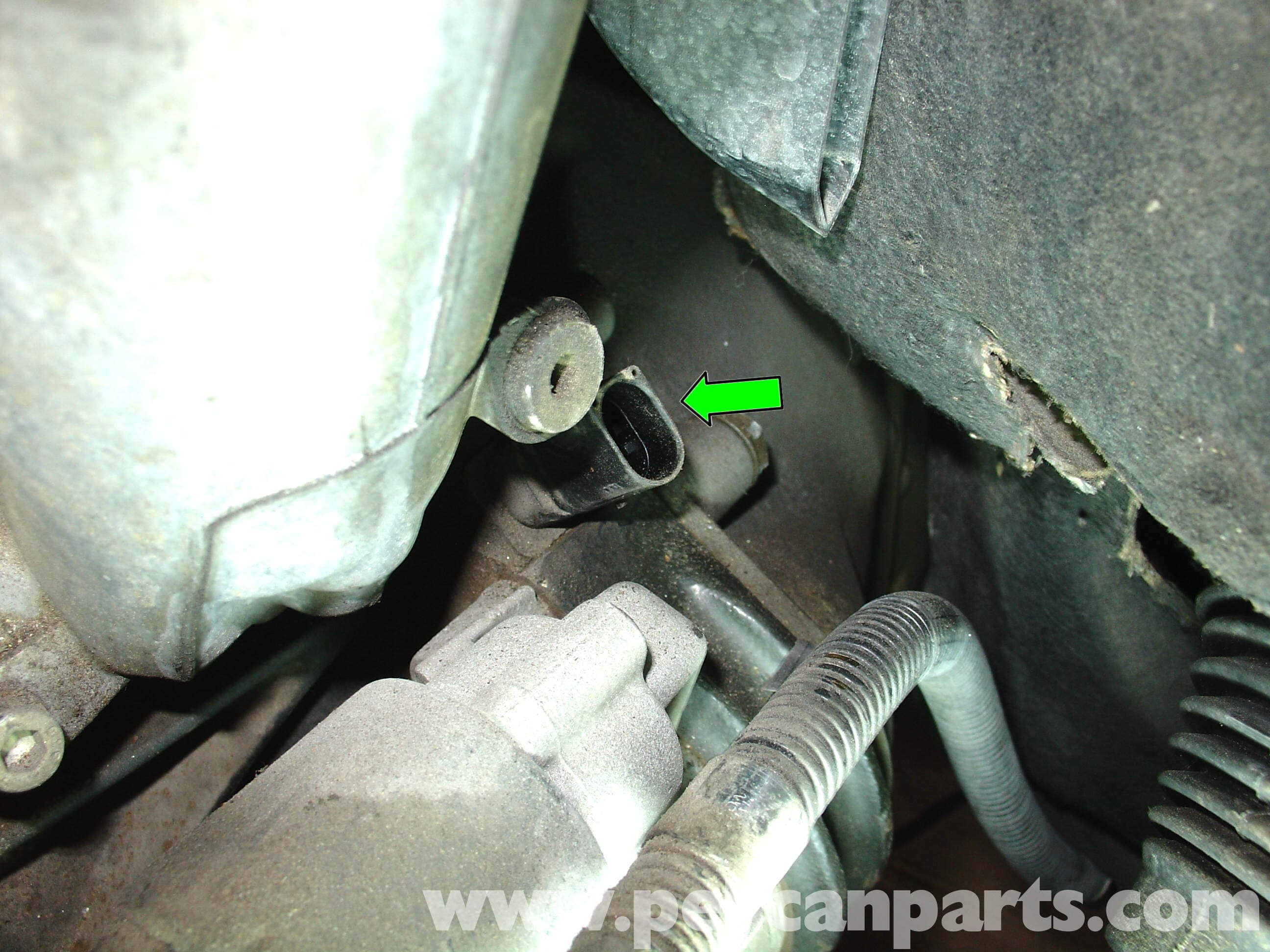 Mercedes-Benz W210 Crankshaft Position Sensor Replacement (1996-03