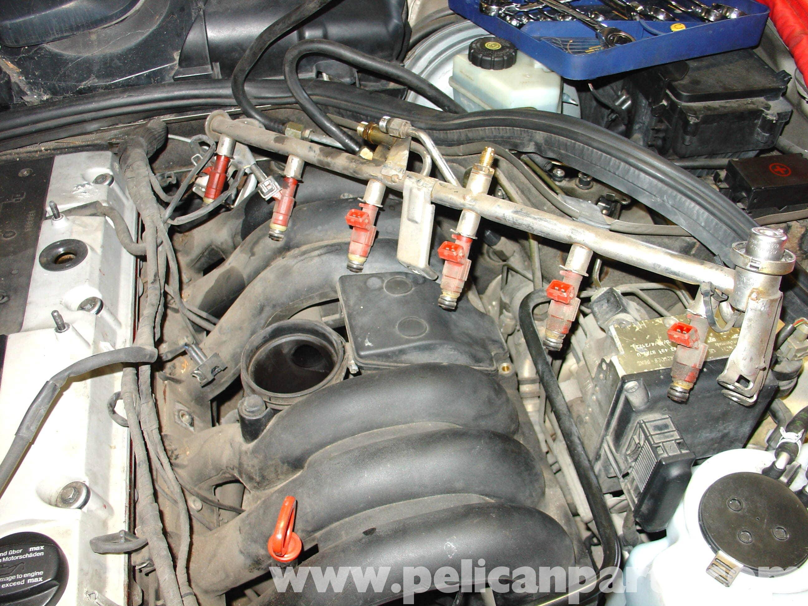 Mercedes-Benz W210 Intake Manifold Removal (1996-03) E320
