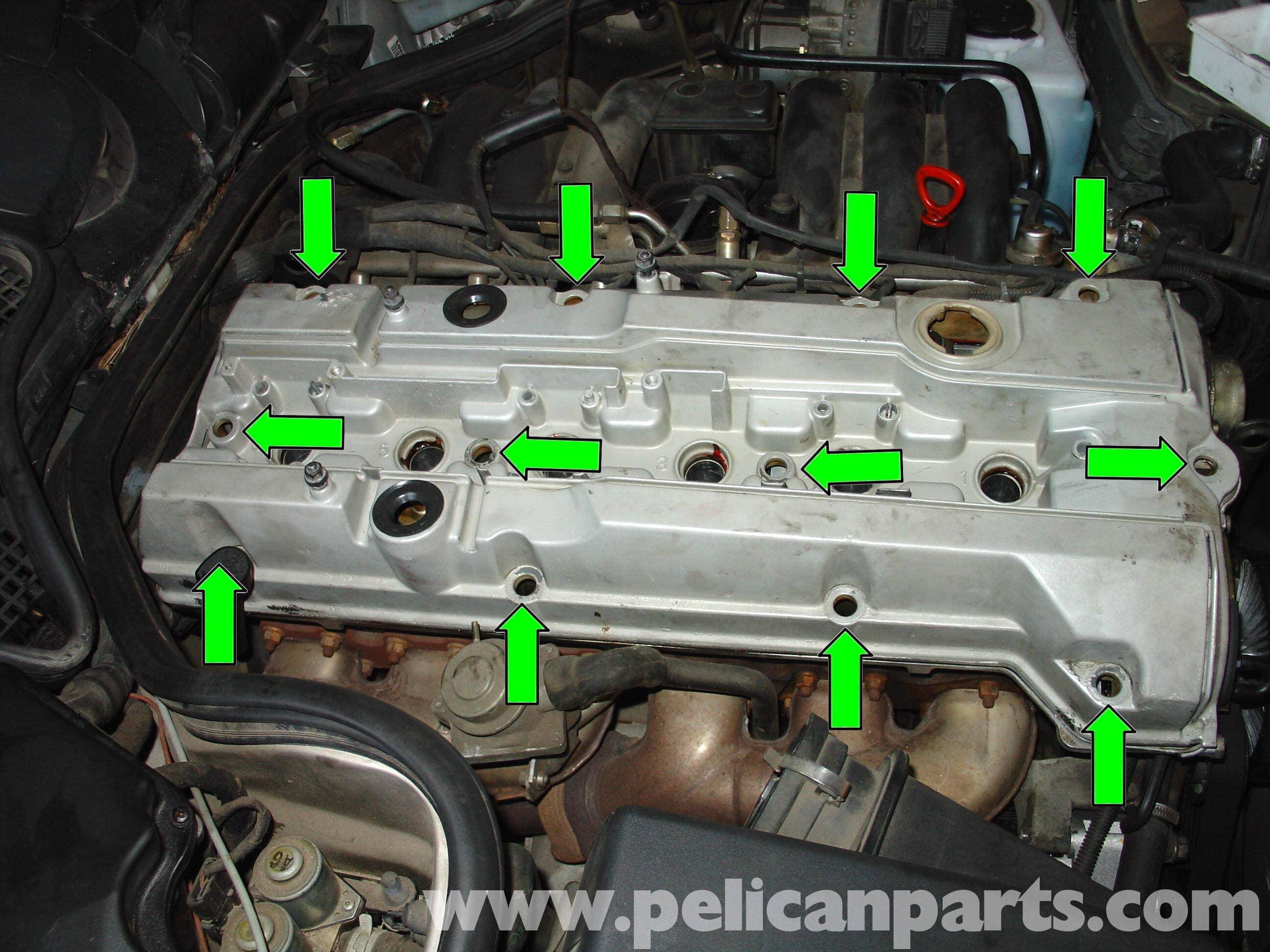 Mercedes-Benz W210 Fixing Common Vacuum Leaks (1996-03) E320, E420