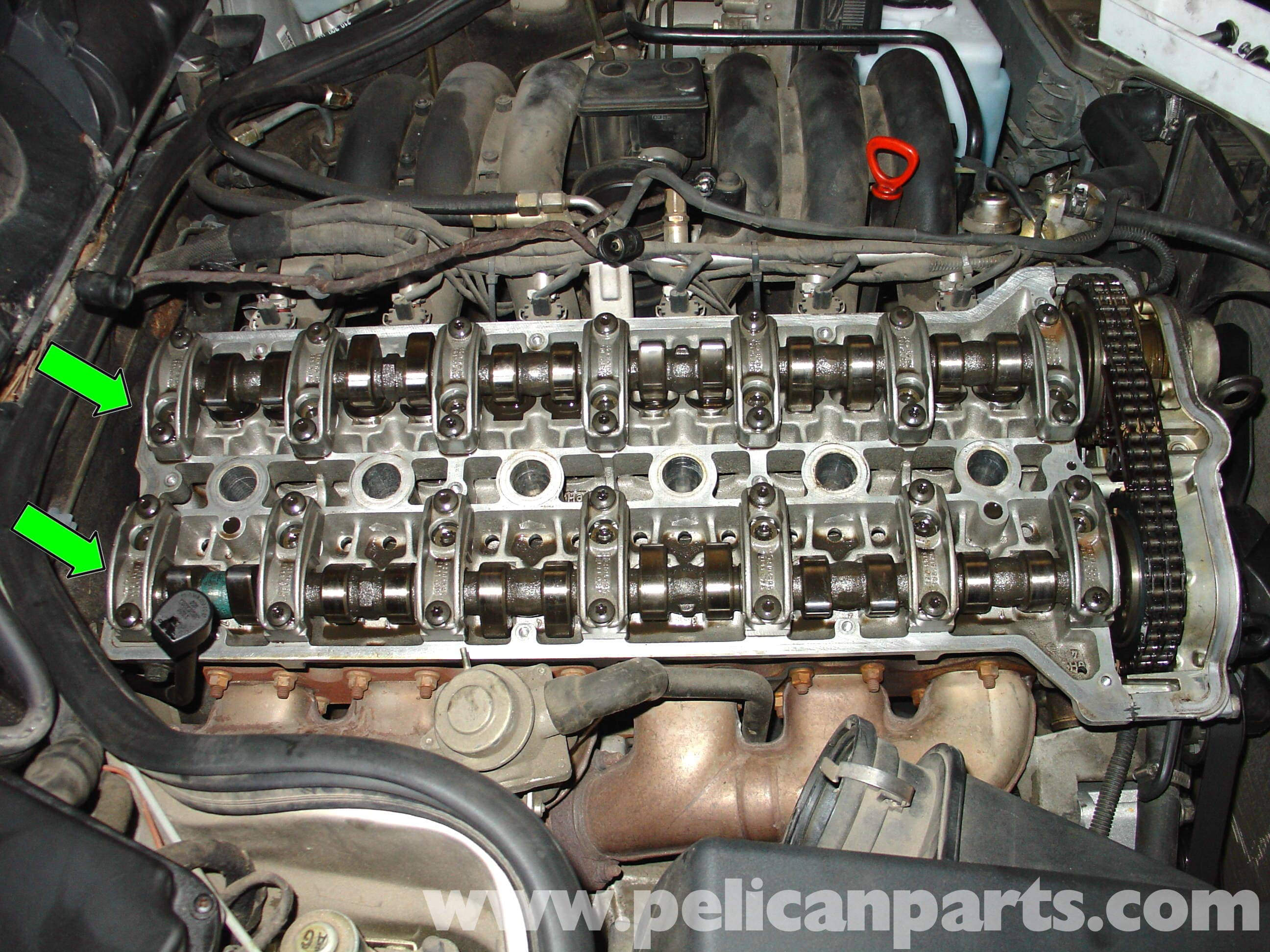 Pic14 mercedes benz w210 fixing common vacuum leaks (1996 03) e320, e420 1999 Mercedes E320 at aneh.co