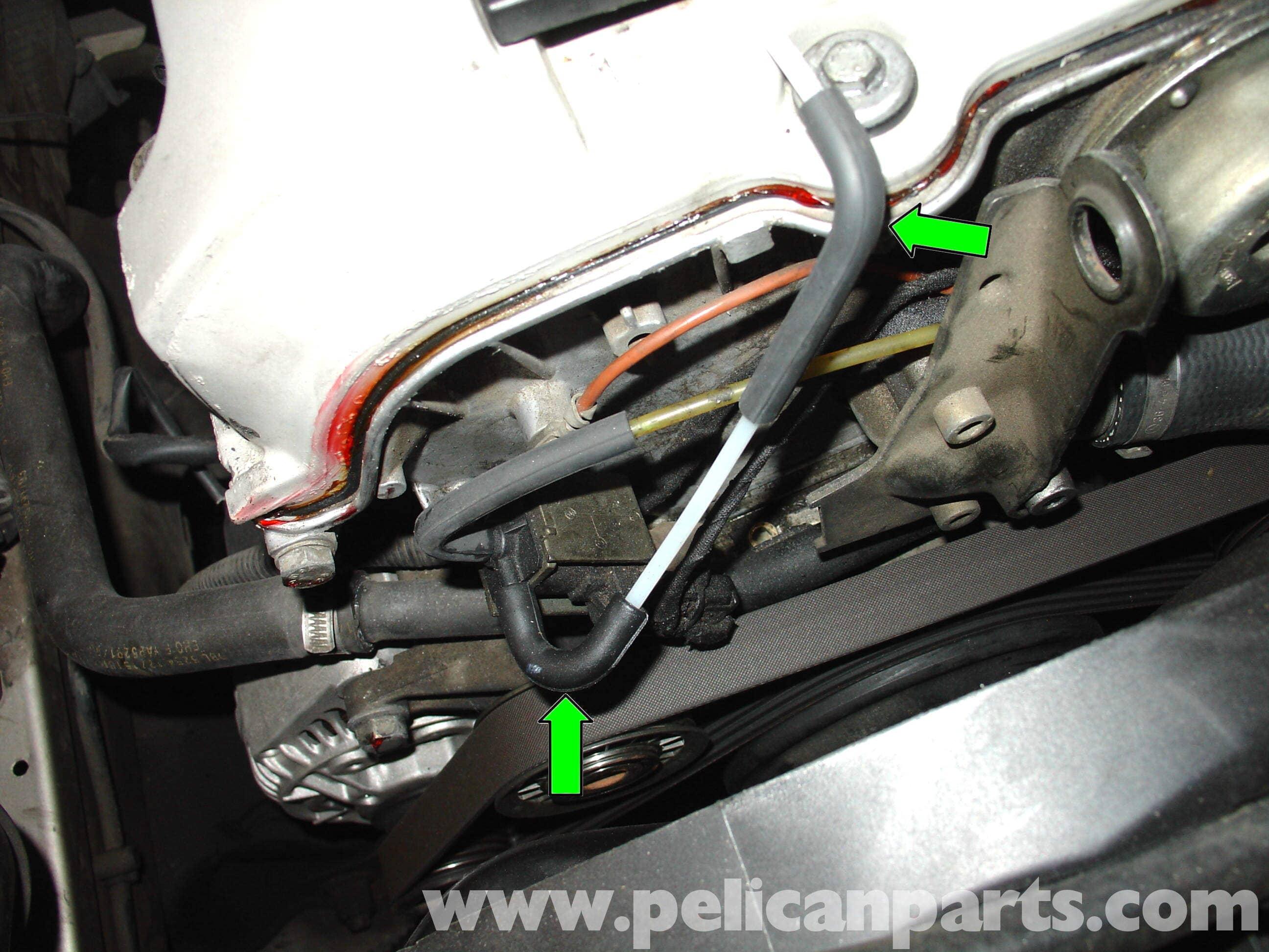 Mercedes-Benz W210 Fixing Common Vacuum Leaks (1996-03) E320