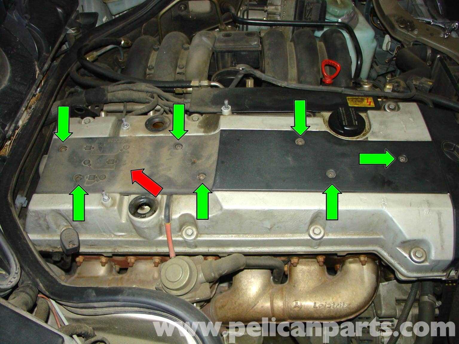 pic09 mercedes benz w210 fixing common vacuum leaks (1996 03) e320, e420  at edmiracle.co