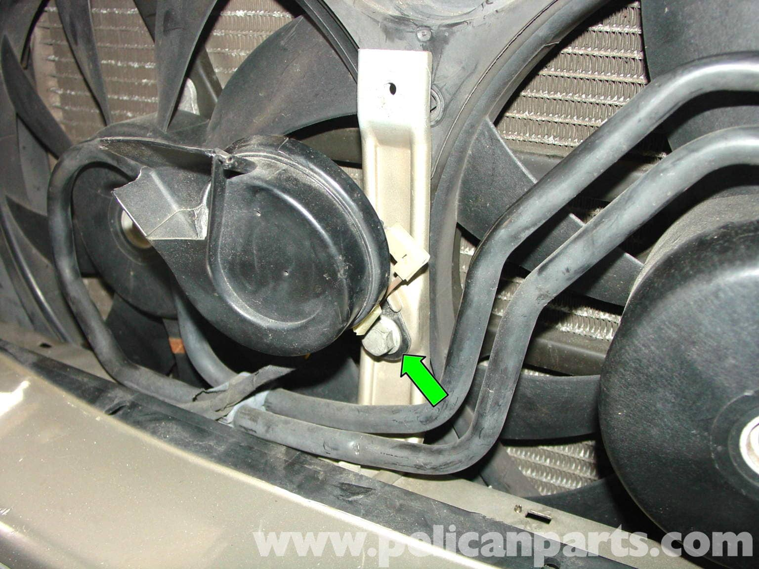 Mercedes Benz W210 Auxiliary Cooling Fan Belt Replacement