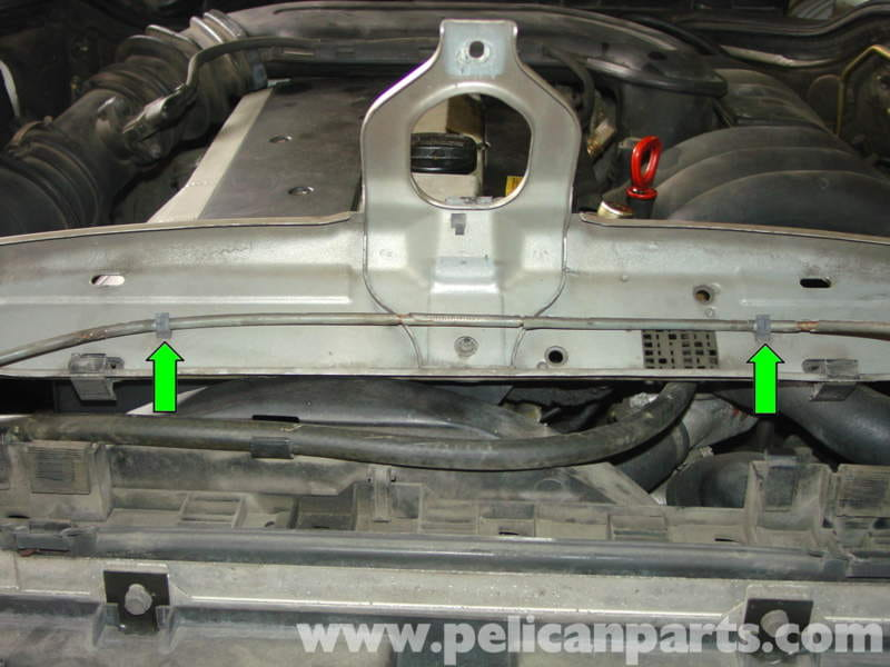 Mercedes benz w210 auxiliary cooling fan belt replacement for Mercedes benz technical support
