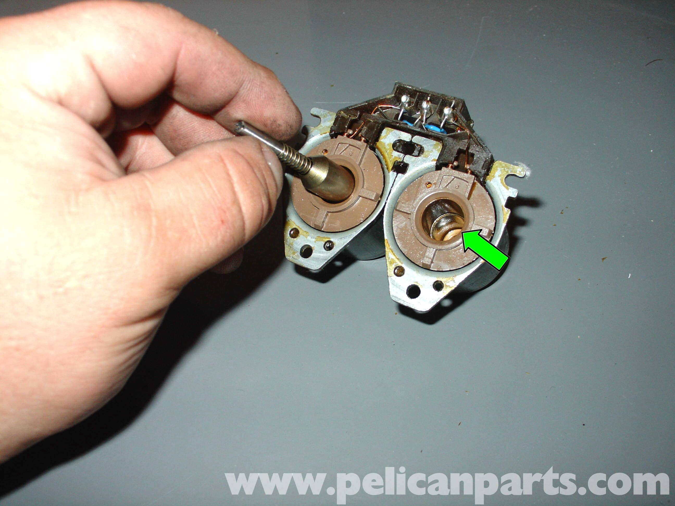 W210 Ac Wiring Diagram : Mercedes benz w heater control valve disassembly and cleaning