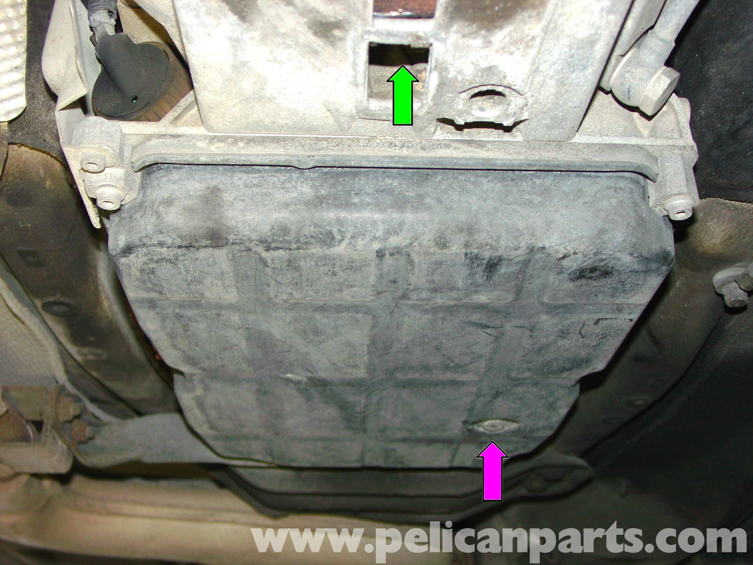pic02 mercedes benz automatic transmission fluid change (w210 1996 03  at bakdesigns.co