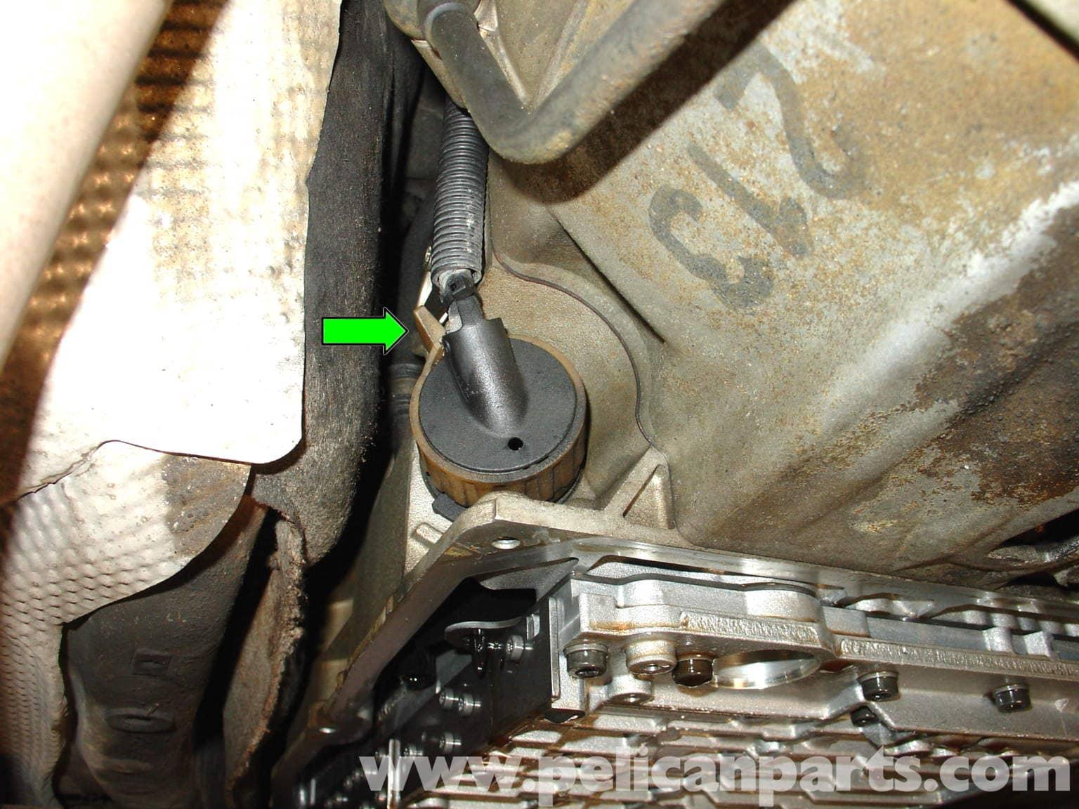 Mercedes   Benz Automatic    Transmission    Fluid Change  W210 199603     E320     E420   Pelican Parts DIY