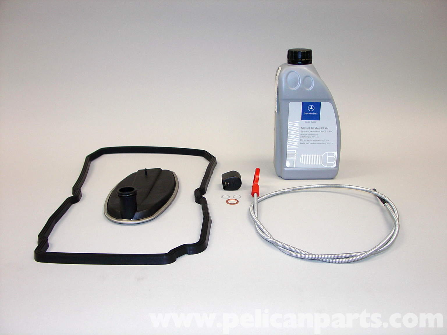 Mercedes-Benz Automatic Transmission Fluid Change (W210 1996