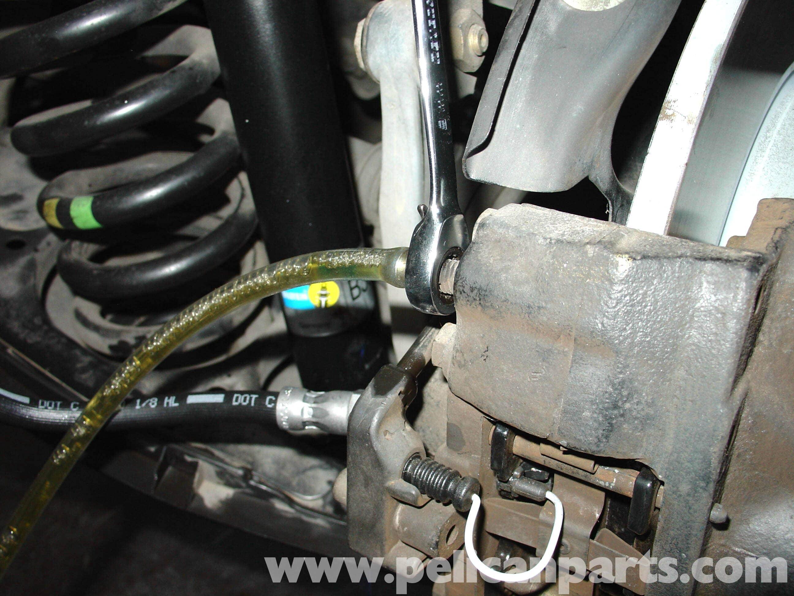 Mercedes Benz W210 Brake Bleeding 1996 03 E320 E420