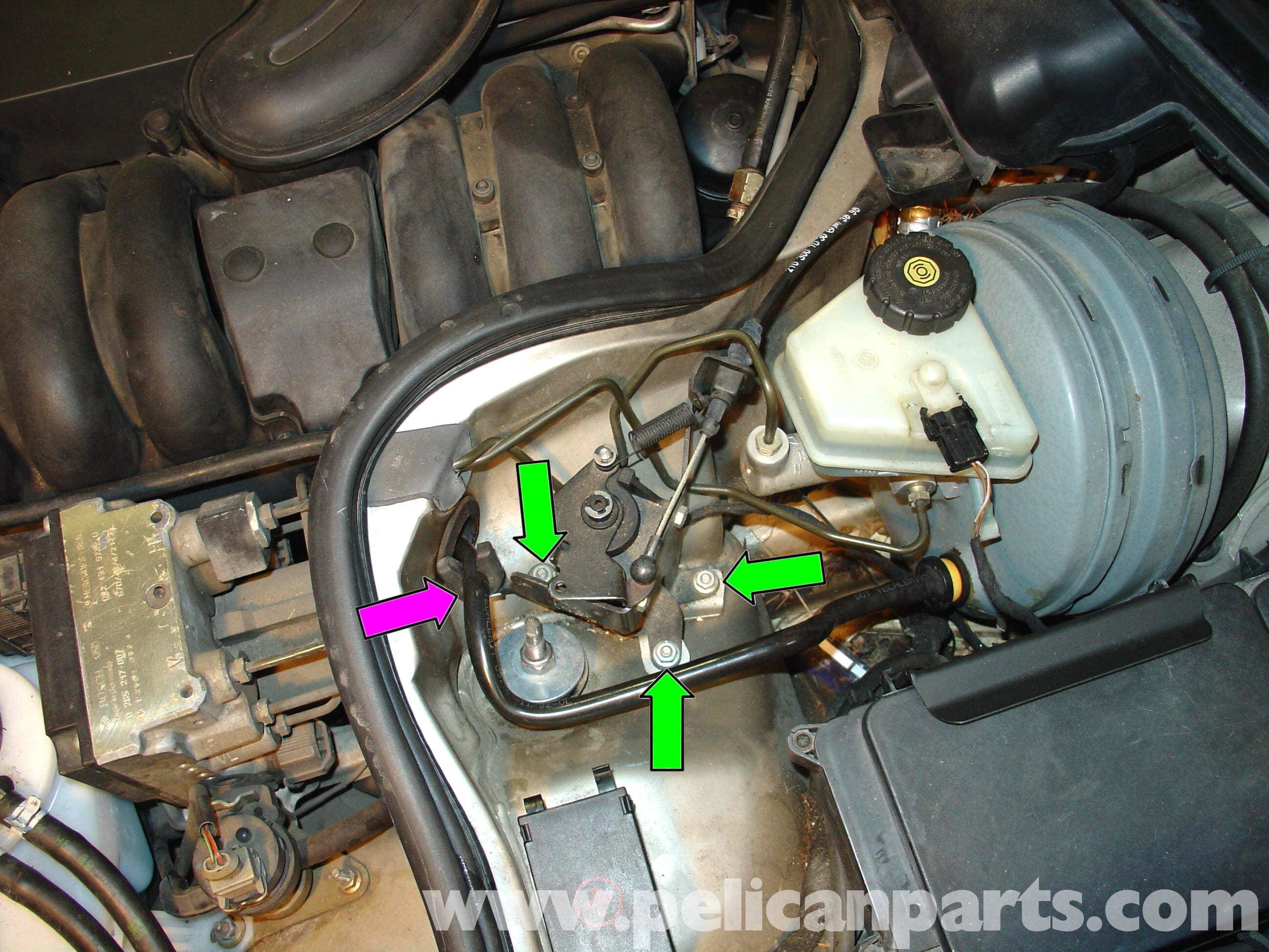Mercedes benz w210 brake master cylinder replacement 1996 for Replacement parts for mercedes benz