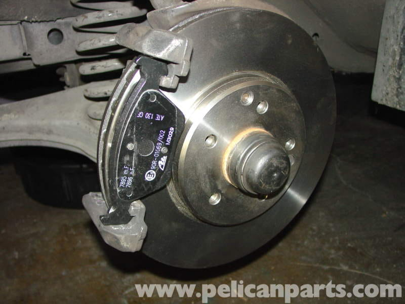 Mercedes Benz Brake Pads And Rotors >> Mercedes Benz W210 Front Brake Pad Disc Replacement 1996 03 E320