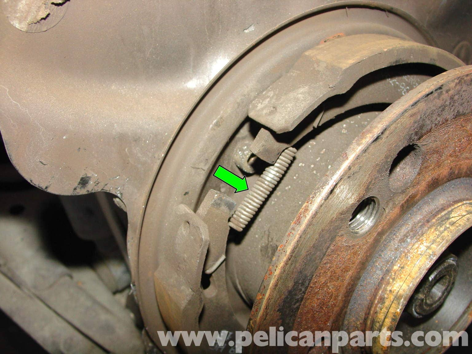 Mercedes benz w210 parking brake replacement 1996 03 for Replacement parts for mercedes benz