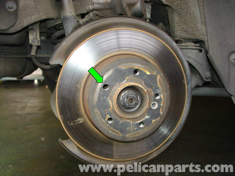 Mercedes Benz W210 Rear Brake Pad Disc Replacement 1996