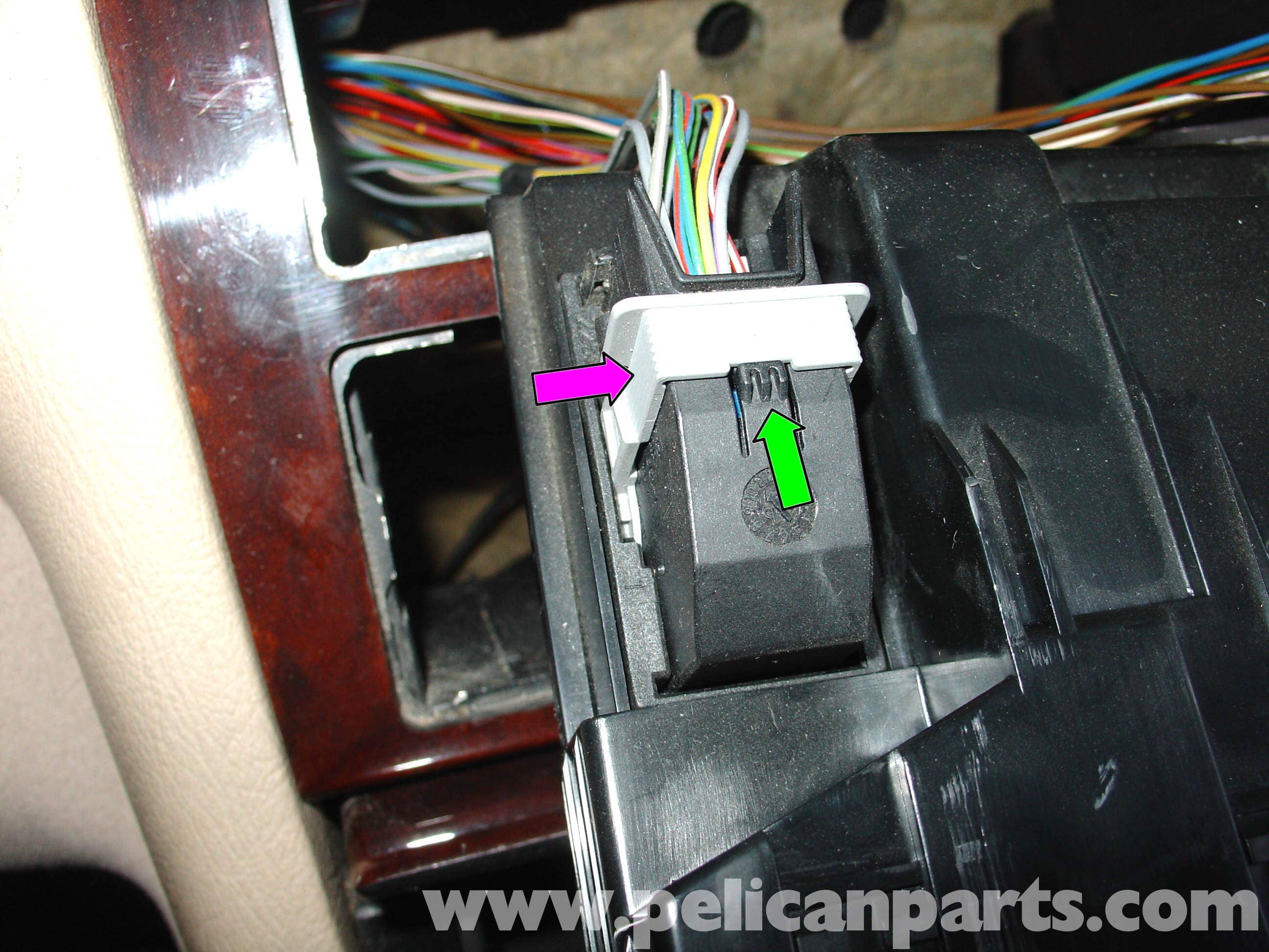 Mercedes Benz W210 Auxiliary Ipod Input 1996 03 E320 E420 Car Chair Wire Harness Large Image Extra