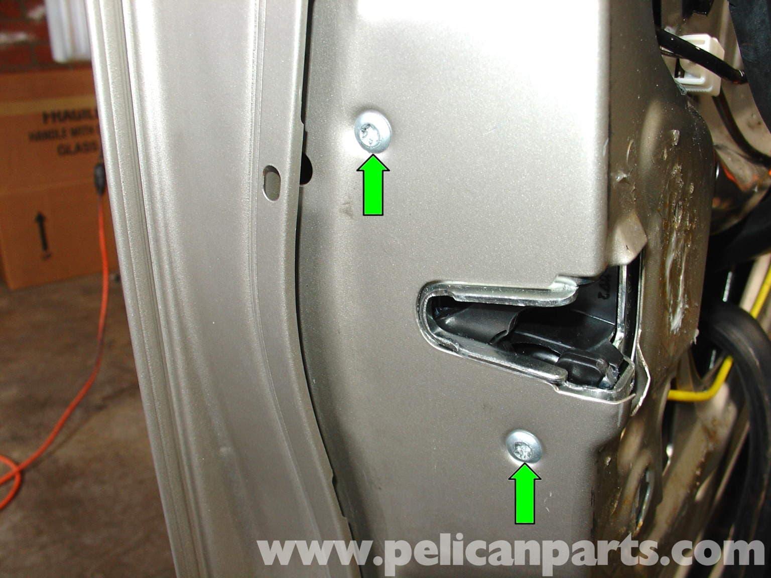 Mercedes Benz W210 Door Lock Actuator Replacement 1996 03